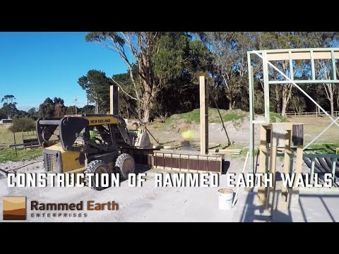 Construction of Rammed Earth Walls