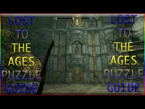 SKYRIM LOST TO THE AGES PUZZLE GUIDE