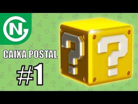 Jogos, Controles, Amiibos, Cartas e muito mais! Obrigado aos meus Inscritos! | Caixa Postal #1