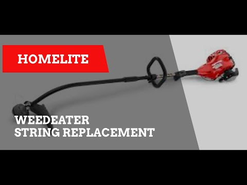 Homelite weed eater string replacement