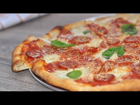 How to: Make a Buffalo Mozzarella Pepperoni Pizza