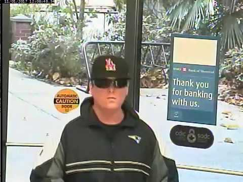 Coqutilam RCMP - Police need help to identify 'Makeup Bandit'