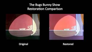 The Bugs Bunny Show - Opening Title Sequence (Restoration Comparison)