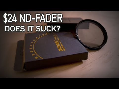 Cheap ND Fader ($24) - is it worth it?
