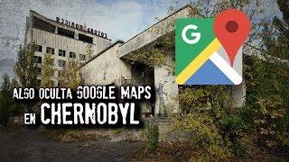 Extraño descubrimiento en CHERNOBYL por Google Maps II