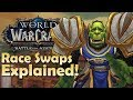 Download Video Download What Race will you become during The Battle for Dazar'alor Raid? Race Swapping Fights Explained! 3GP MP4 FLV