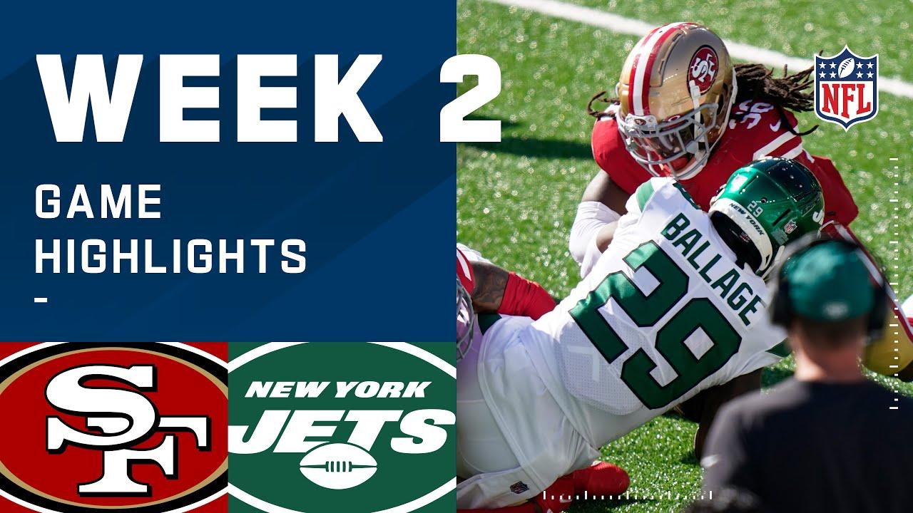 49ers vs. Jets Week 2 Highlights | NFL 2020