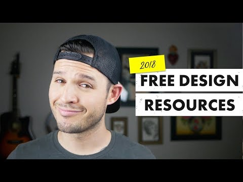 Free Design Resources | 2018 | Inspiration, Assets, Typography, Tools