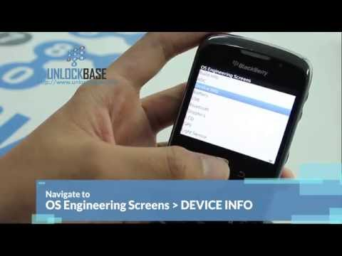 How to Find the MEP using Keypad Method on a BlackBerry