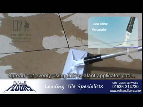 How To Fix And Seal Limestone Tiles