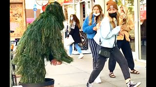 Hilarious Bushman Prank Compilation | November - December | Funny Prank Reactions