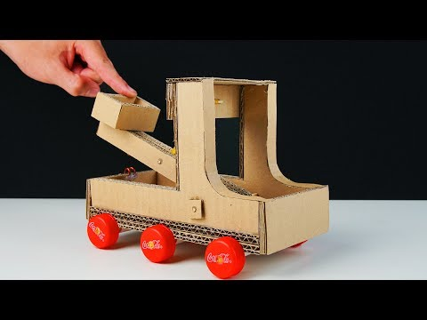 How To Make EASY CATAPULT from Cardboard