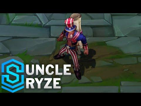 Uncle Ryze (2016) Skin Spotlight - League of Legends