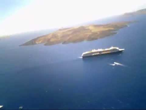 Santorini fira fly