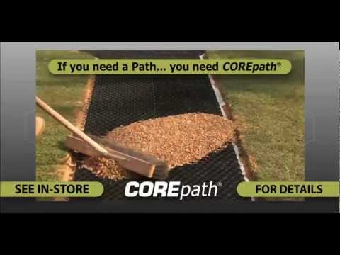 COREpath - Self install the perfect gravel pathway