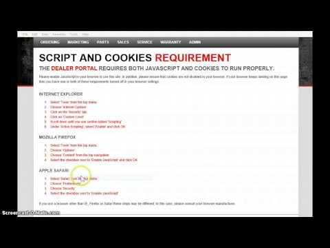Enable Cookies IE