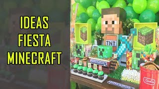 Decoración De Minecraft Ideas