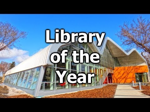 Edmonton Public Library Wins 2014 Library of the Year | #yeg @EPLdotCA