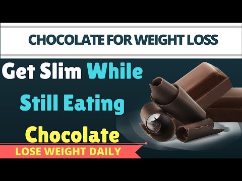 Lose 10 Kg Fast By Eating Dark Chocolate | Eat Dark Chocolate Daily To Reduce Weight
