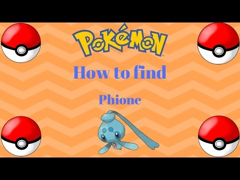 How to get Phione (Mythical Pokemon) | Pokemon Brick Bronze