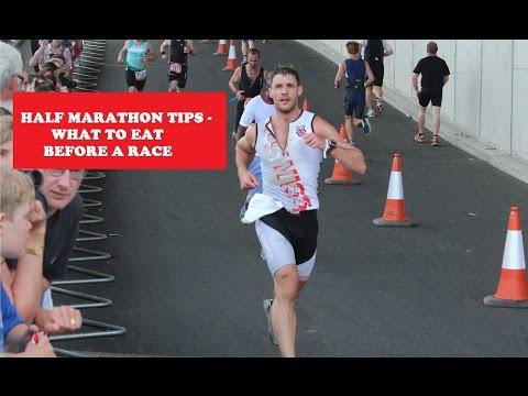 Half marathon tips. What I eat before a long run and half marathon race
