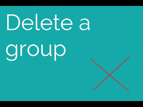 How to: Delete a Steam Group