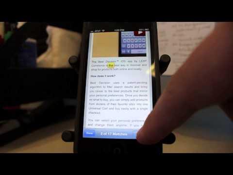 iOS Tip: Word Search in Safari