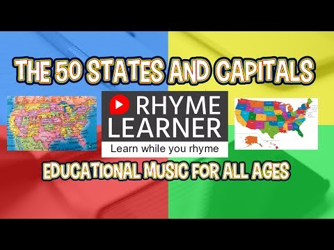 The 50 States and Capitals Song