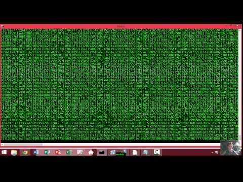 make the matrix for command prompt
