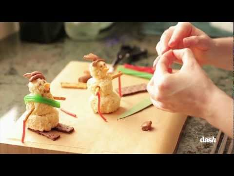 Rice Krispies Snowman Treats | Food Fun 101 with Shannon McCook