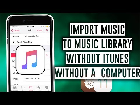 How to import Music to your Music Library without iTunes or a Computer - iOS 11 / 11.1.2