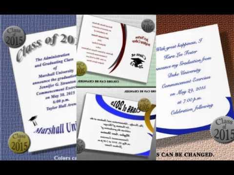 College Graduation Announcements 2 Medium
