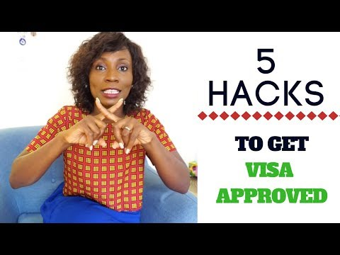 How to get canada tourist visa APPROVED - CANADA/USA/UK