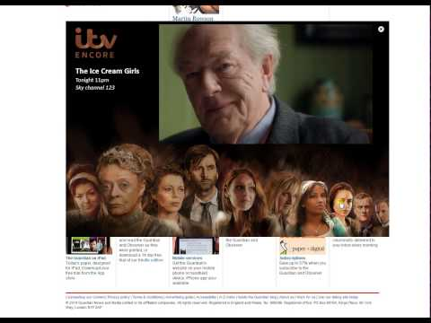 ITV Encore online ad
