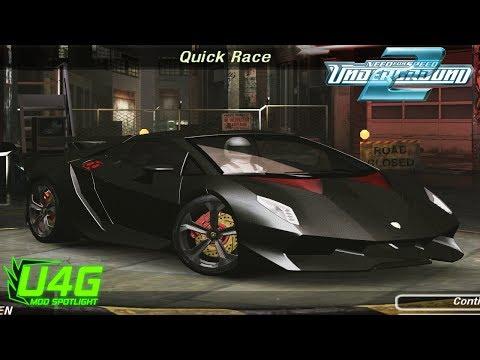 Lamborghini Sesto Elemento Need For Speed Underground 2 Mod Spotlight U4G