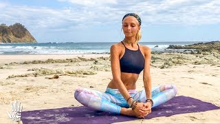 Download Yoga For Beginners ♥ Easy Stretch & Stress Release   Playa Barrigona