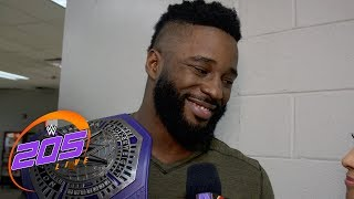 Cruiserweight Champion Cedric Alexander ready for any challenger: 205 Live Exclusive, July 17, 2018
