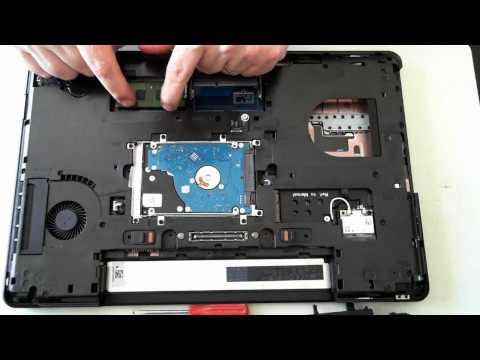 Dell Latitude E5540 Opening / Teardown / Upgrade