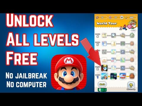 Install MARIO RUN unlock hack NO jailbreak NO computer iOS 8/10.2.1 for FREE