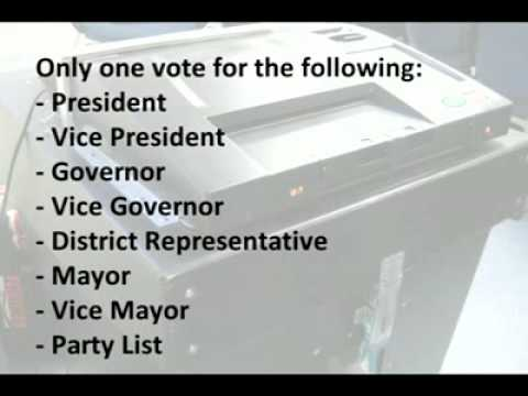 Quick Guide to the Philippine Automated Elections on May 10, 2009