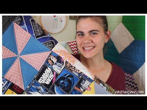 Star Wars Quilt   DIY Inspiration   Whitney Sews