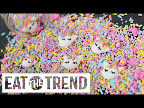 DIY Unicorn Sprinkles With Kawaii Sweet World | Eat the Trend