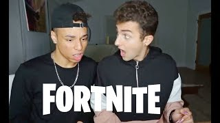 TEACHING MY BEST FRIEND HOW TO PLAY FORTNITE