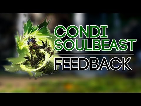 GW2 - Condition Soulbeast Feedback (PvE)