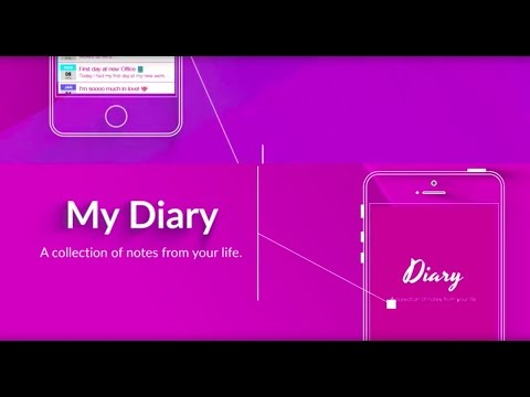My Diary - A personal journal with password lock