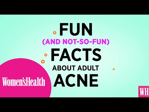 Fun Facts on Adult Acne