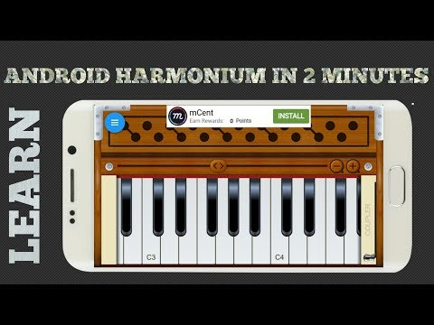 Learn Android Harmonium in 2 minutes.