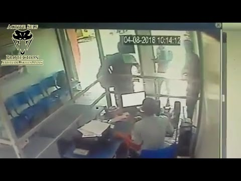 Armed Victim Demonstrates Perfect Armed Robbery Defense | Active Self Protection