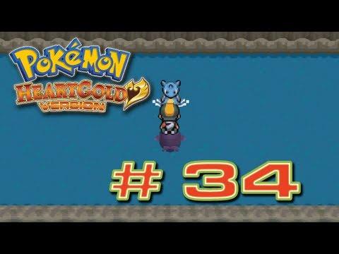 Pokémon HeartGold - # 34 ( Cueva Unión