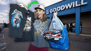 I Found So Much Vintage Clothing At This Goodwill Thrift Store! Trip To The Thrift!